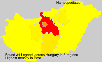 Surname Legendi in Hungary