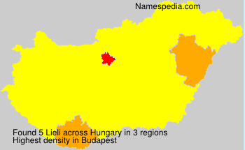 Surname Lieli in Hungary