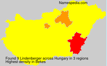 Surname Lindenberger in Hungary