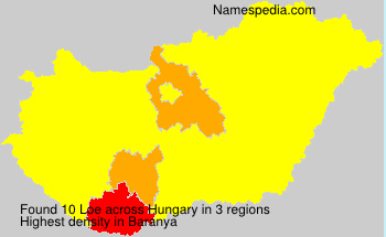 Surname Loe in Hungary