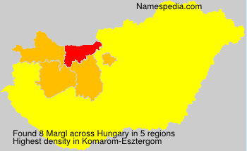 Surname Margl in Hungary