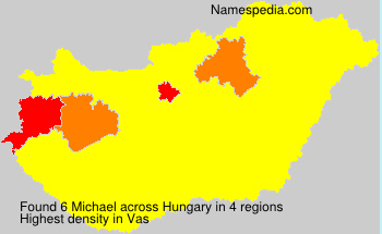 Surname Michael in Hungary