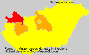 Familiennamen Mujzer - Hungary