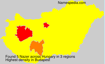 Surname Nazer in Hungary
