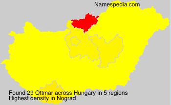 Surname Ottmar in Hungary