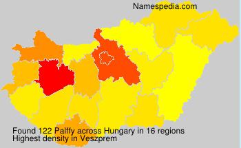 Familiennamen Palffy - Hungary