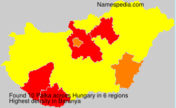 Surname Palka in Hungary