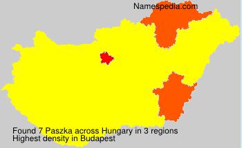 Paszka - Hungary