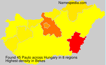 Surname Paulo in Hungary