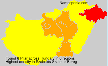 Surname Pilar in Hungary