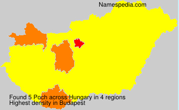 Surname Poch in Hungary