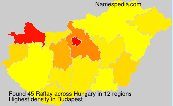 Surname Raffay in Hungary