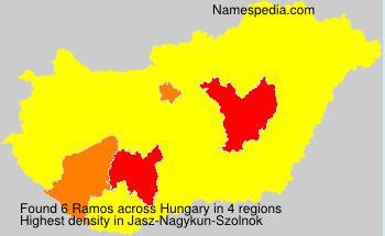 Familiennamen Ramos - Hungary