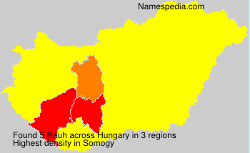 Surname Rauh in Hungary