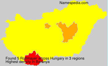 Surname Rottmayer in Hungary