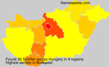 Surname Schiffer in Hungary