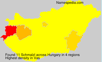 Surname Schmalzl in Hungary