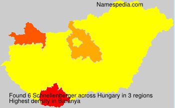 Surname Schnellenberger in Hungary