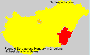 Familiennamen Serb - Hungary