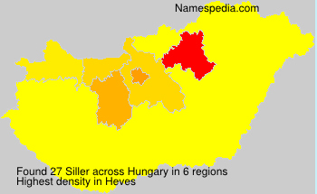 Surname Siller in Hungary