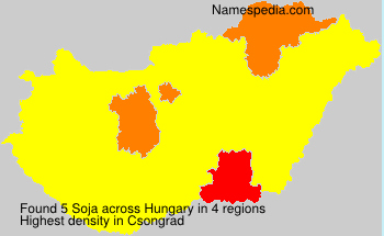 Surname Soja in Hungary
