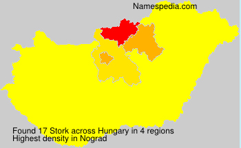 Surname Stork in Hungary