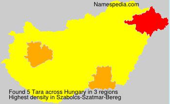 Familiennamen Tara - Hungary
