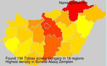 Familiennamen Tobias - Hungary