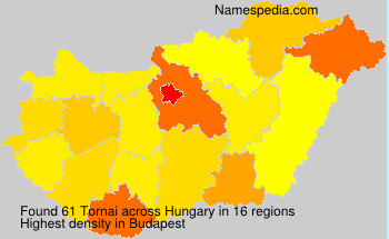 Surname Tornai in Hungary