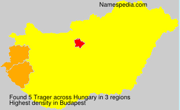 Surname Trager in Hungary