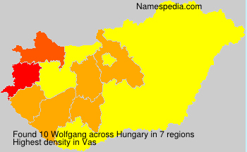 Surname Wolfgang in Hungary