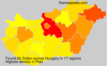 Surname Zoltan in Hungary