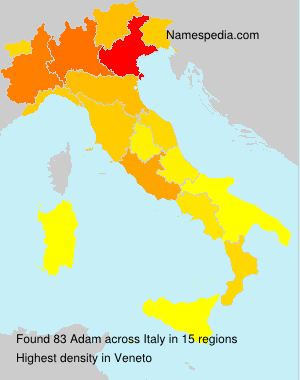 Surname Adam in Italy