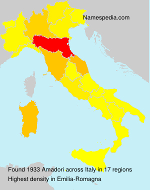 Familiennamen Amadori - Italy