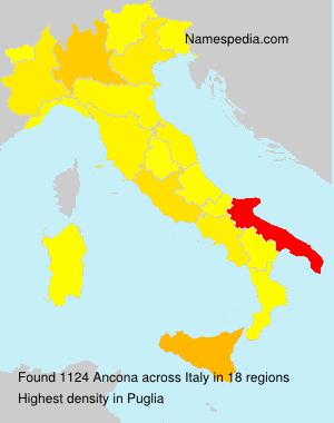 Familiennamen Ancona - Italy