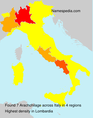 Surname Arachchilage in Italy