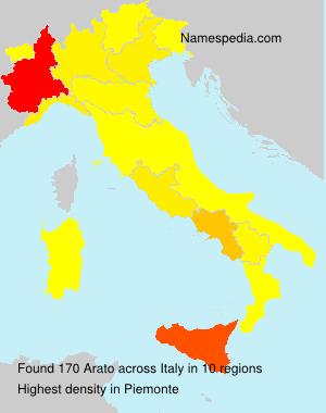 Surname Arato in Italy