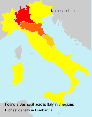 Surname Basharat in Italy