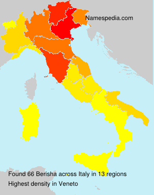Familiennamen Berisha - Italy