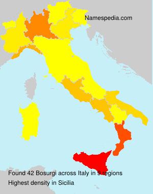 Familiennamen Bosurgi - Italy