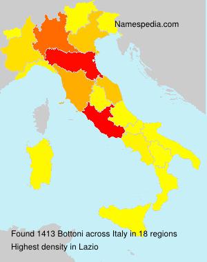 Familiennamen Bottoni - Italy