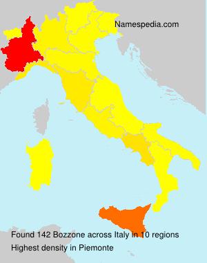 Familiennamen Bozzone - Italy