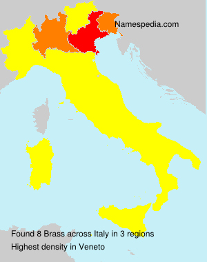 Surname Brass in Italy