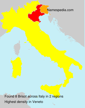 Surname Brisot in Italy