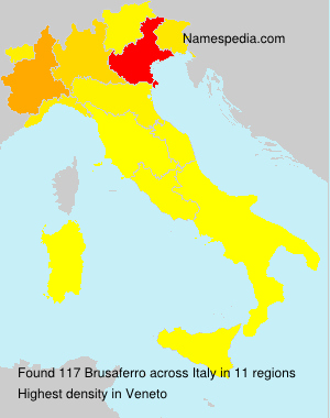 Surname Brusaferro in Italy