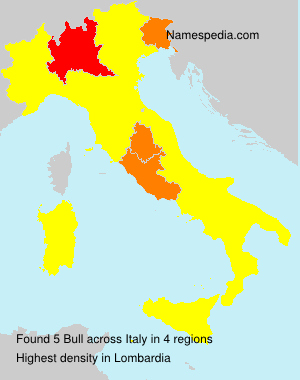 Surname Bull in Italy