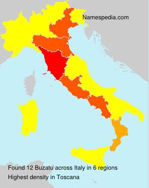 Surname Buzatu in Italy