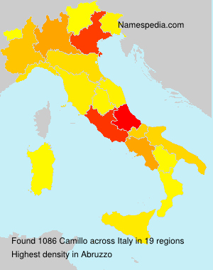 Surname Camillo in Italy