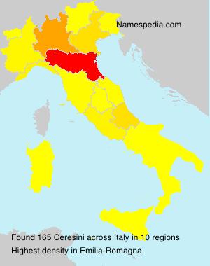 Familiennamen Ceresini - Italy