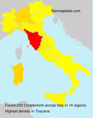Familiennamen Chiaramonti - Italy
